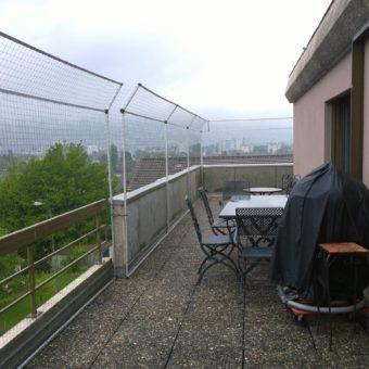 Katzen Balkon Netze Montage