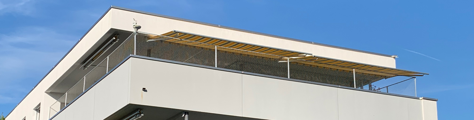 balkonnetzmontage
